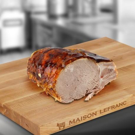 côte de porc cuite